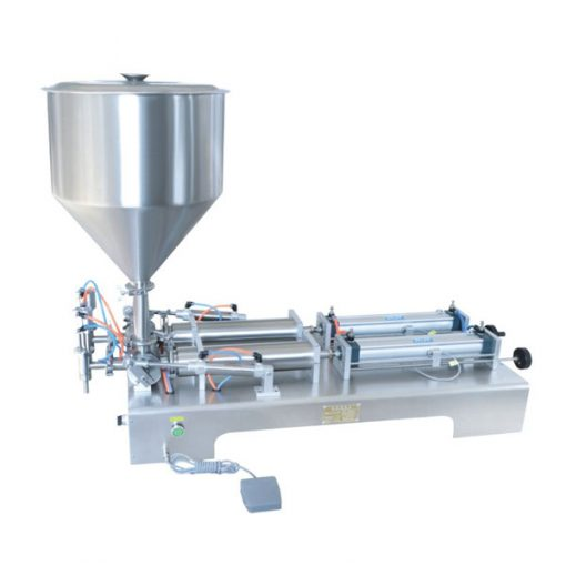 Double Heads Ointment Filling Machine JST-G2D
