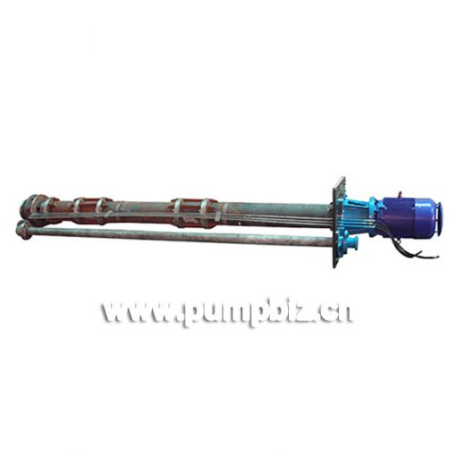 YPLCF anti-corrosive and abrasive proof long axial vertical pump