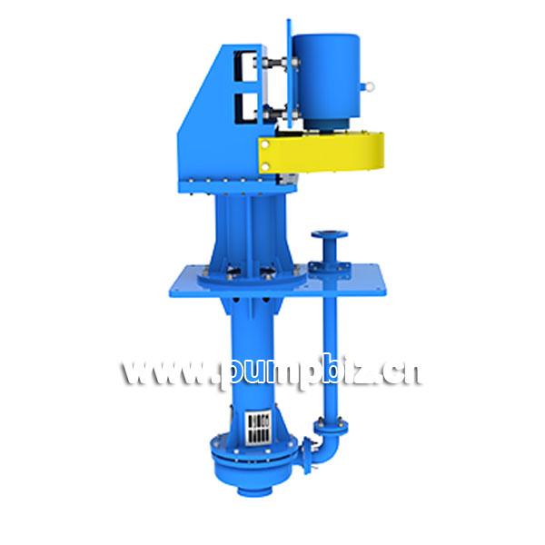 YZW Series double suction vertical slurry pump